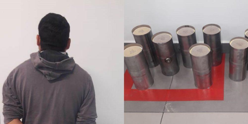 Sorprenden a empleado mientras robaba 8 catalizadores en FINSA