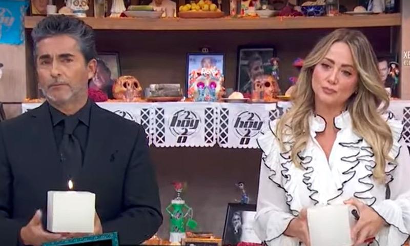 """Así fue la despedida de los  conductores de""""Hoy"""" a Magda Rodríguez"""