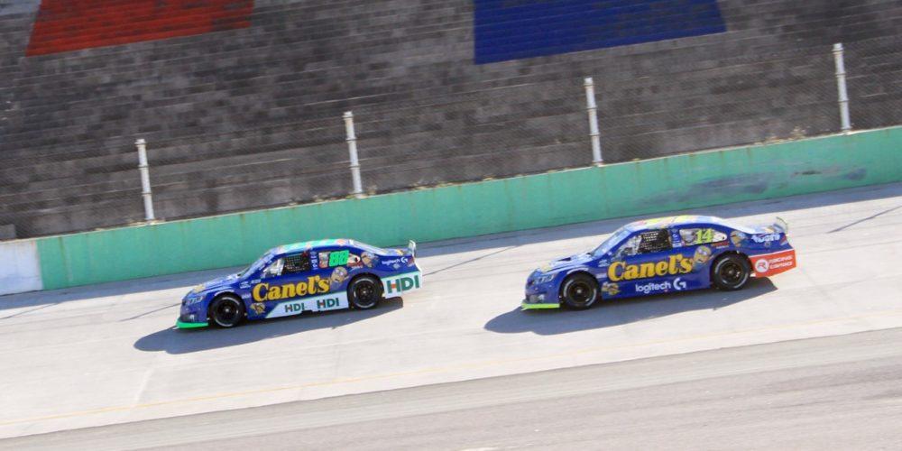 2° para García Jr. y De Alba Jr. en NASCAR Peak y Challenge Aguascalientes