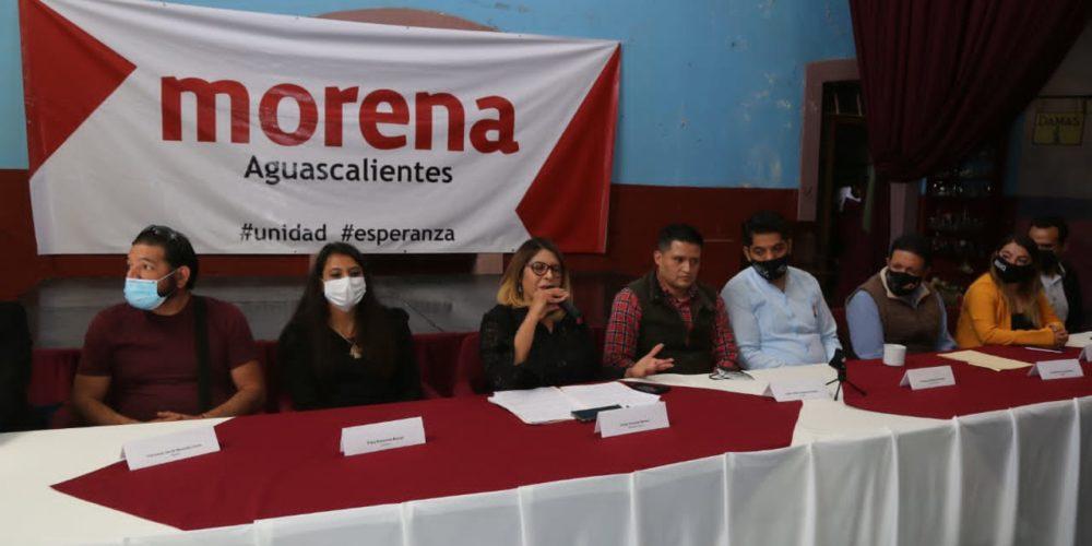 """""""Urge poner orden en Morena Aguascalientes"""": Diputados"""