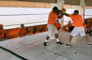 Se realiza torneo de box entre internos de el Cereso de El Llano