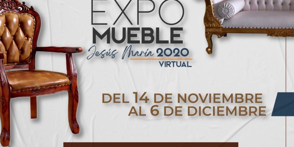 Anuncian Expo Mueble virtual en Jesús María
