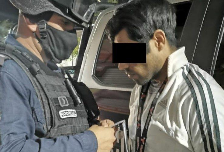 Capturan a distribuidor de drogas en VNSA