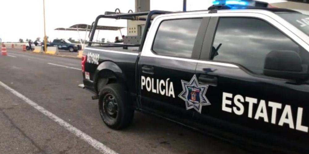 Aseguran  vehículo robado  en el norte del estado