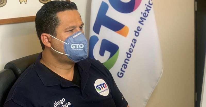 Diego Sinhue, gobernador de Guanajuato, es hospitalizado por Covid-19