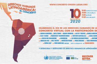 Conmemorará ONU el Día de los Derechos Humanos con concierto virtual