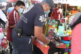 Más de mil kilos de juguetería de pirotecnia decomisados por el municipio