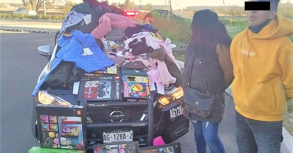 Llegaron de la CDMX a robar a Aguascalientes