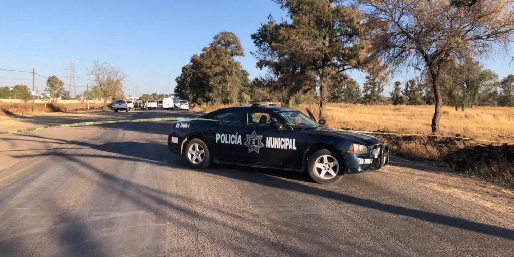 Dejan cuerpo de bebe destrozado en carretera de Aguascalientes