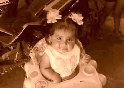Buscan a la bebé Arlet Guadalupe en Aguascalientes