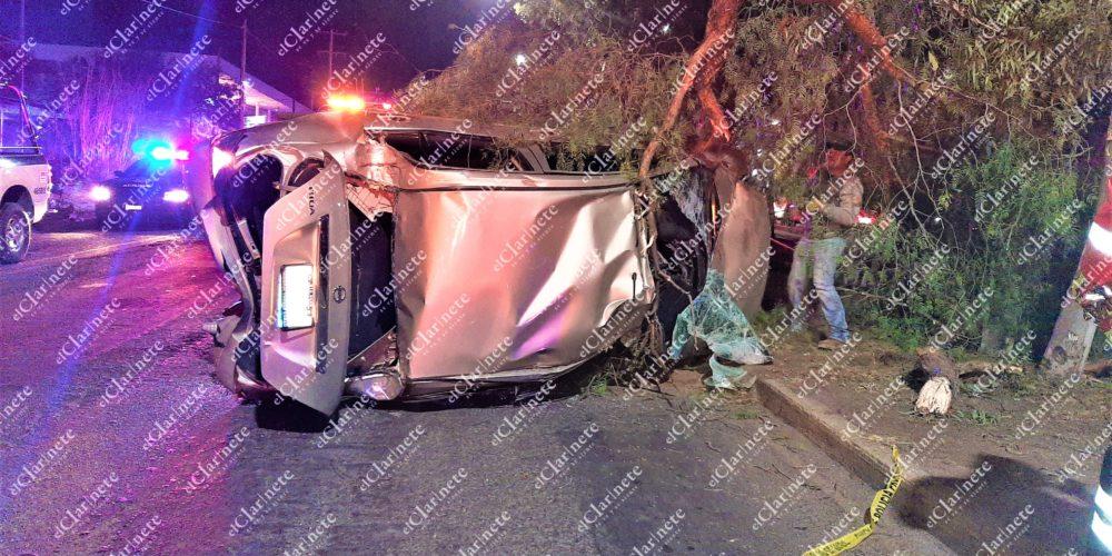 """Borracho echaba """"carreritas"""", se impactó contra un vehículo y dejó 3 heridos frente al Cedazo"""