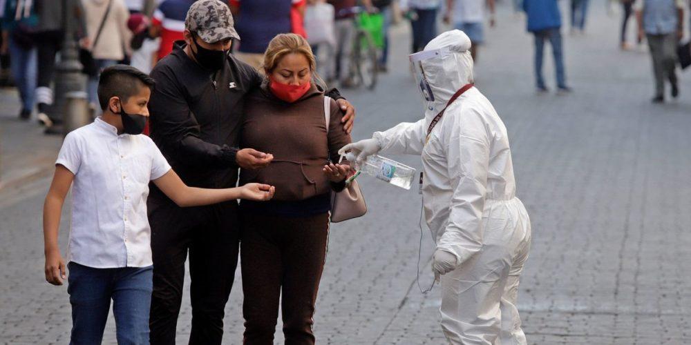 124,897 defunciones  por Covid-19 en México
