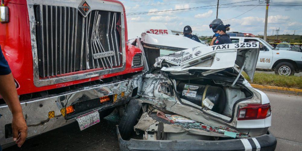 Tras larga agonía falleció taxista que participó en choque en Siglo XXI