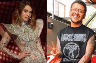"""Belinda y Christian Nodal posan como """"la pareja del año"""""""