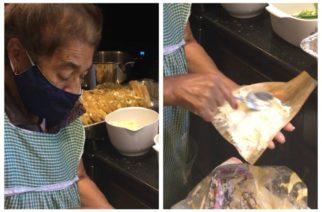 Abuela regala 800 tamales para médicos que la atendieron por Covid