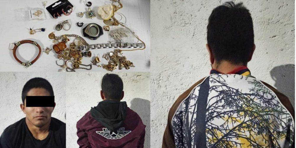 Cae banda de ladrones domiciliarios en Aguascalientes