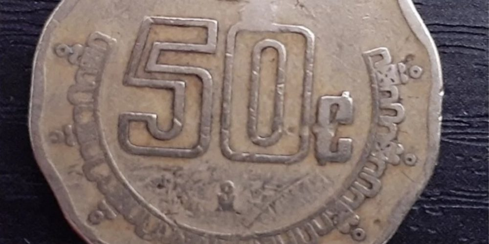 Monedas de cincuenta centavos pueden valer hasta  4 mil pesos en la Red