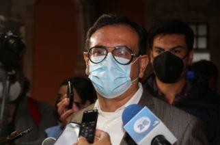 En la cancha del Congreso de Aguascalientes tema del aborto: Flores