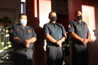 Con honores jubilan a bomberos municipales