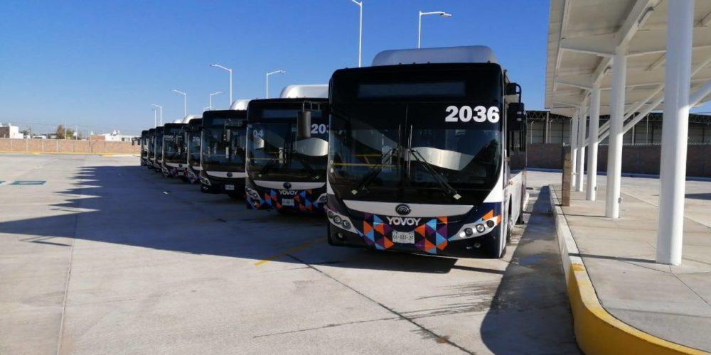 Choferes de urbanos se verán afectados por encierro de unidades en terminales YoVoy
