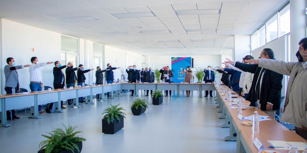 Se conforma el Comité Municipal de Desarrollo Urbano en Rincón de Romos