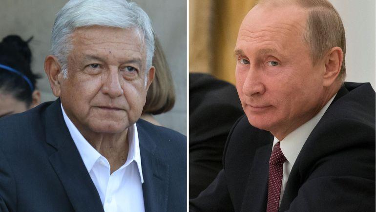 Llamará AMLO a Putin para hablar sobre suministro de vacunas: Ebrard