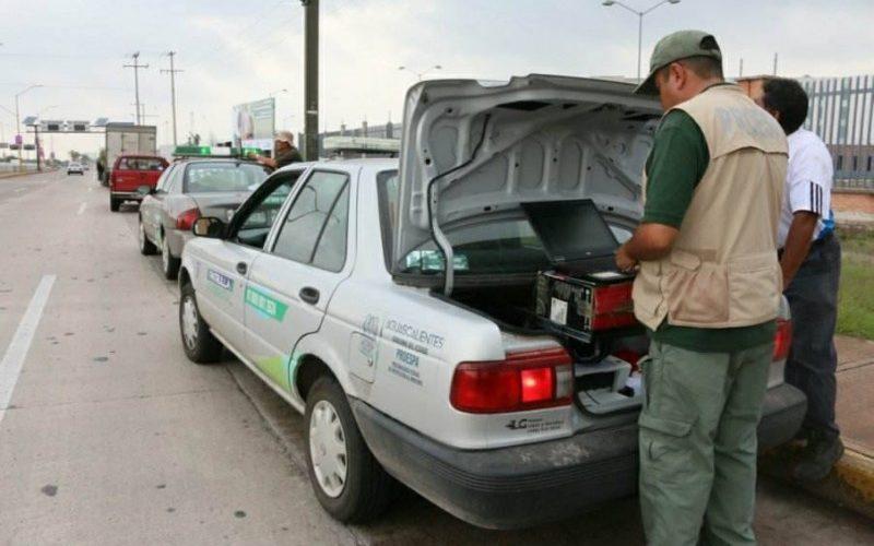Retoma Proespa operativos para detener unidades contaminantes