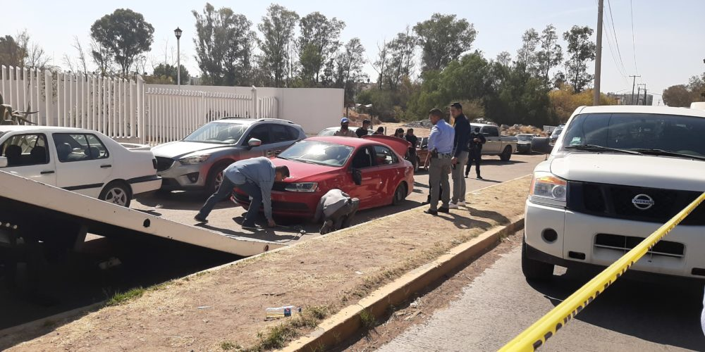Entre balas atrapan a banda de colombianos que robaba residencias en Aguascalientes