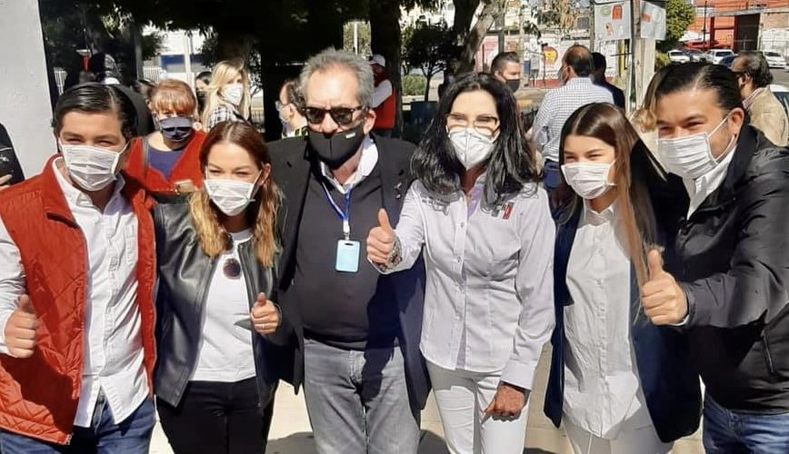 Tagosam Salazar respalda candidatura de Blanca Rivera