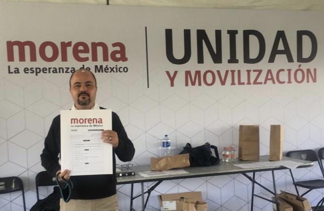 Alejandro Ponce busca ser diputado por el Distrito 02 federal en Morena
