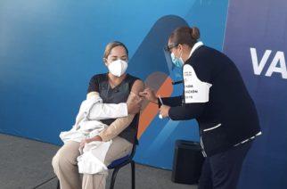 Que hoy llega otro lote de vacunas de Pfizer a Aguascalientes