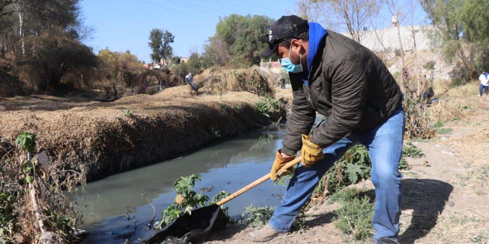 "Arranca programa ""Revive tu Arroyo"" en el municipio de Aguascalientes"