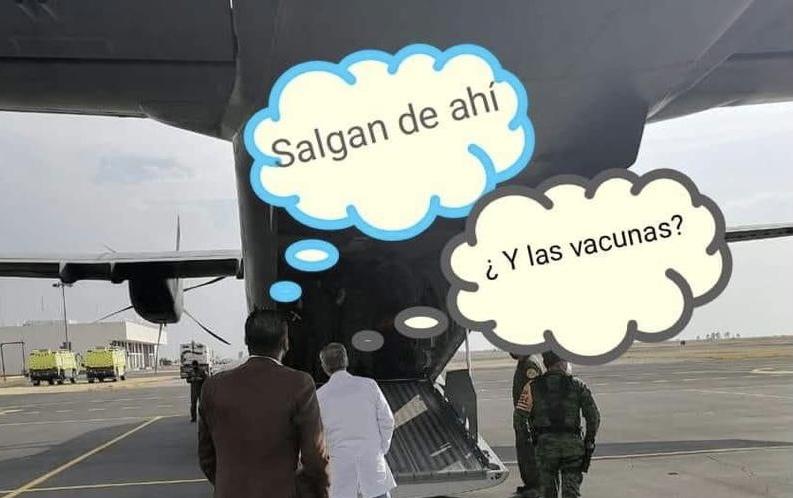 Mientras tanto la llegada de las vacunas anti covid en Aguascalientes ….