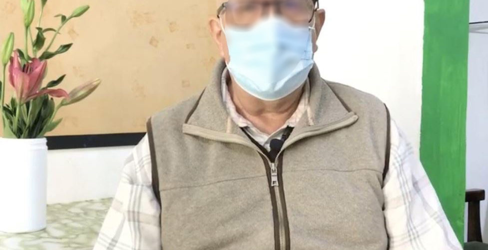 Pese a tener 76 años y sobrepeso, Salvador venció al Covid-19 en Aguascalientes