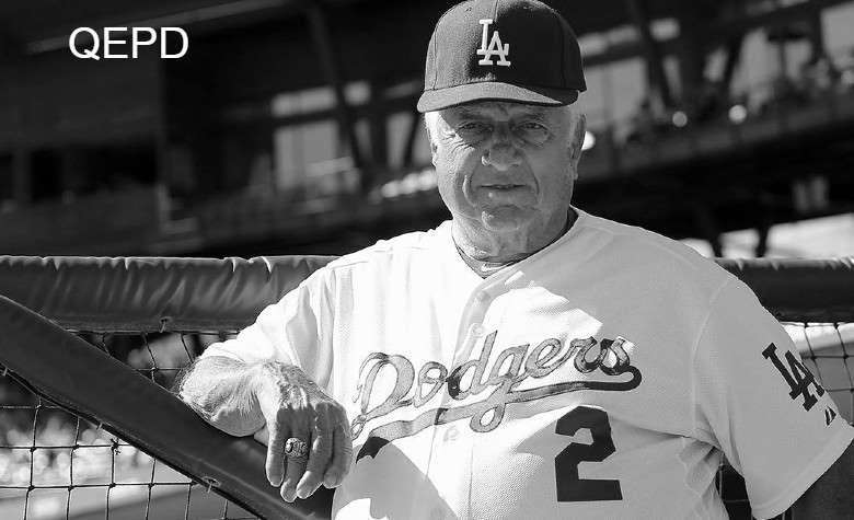 Muere Tommy Lasorda,  ex manager de Dodgers