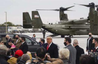 Trump agradece a México el despliegue de soldados en la frontera para evitar el ingreso de migrantes