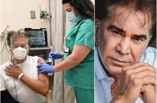 Recibe 'El Puma' vacuna contra el Covid-19