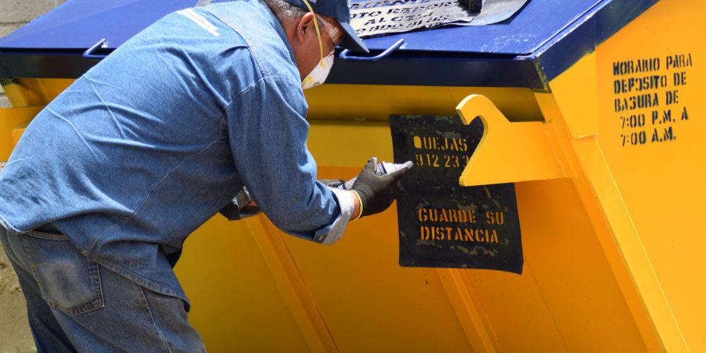 Se eroga hasta 30 mil pesos en mantenimiento de contenedores: Rodríguez