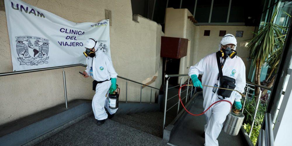 Coronavirus en México llega a 1,825,519 infectados