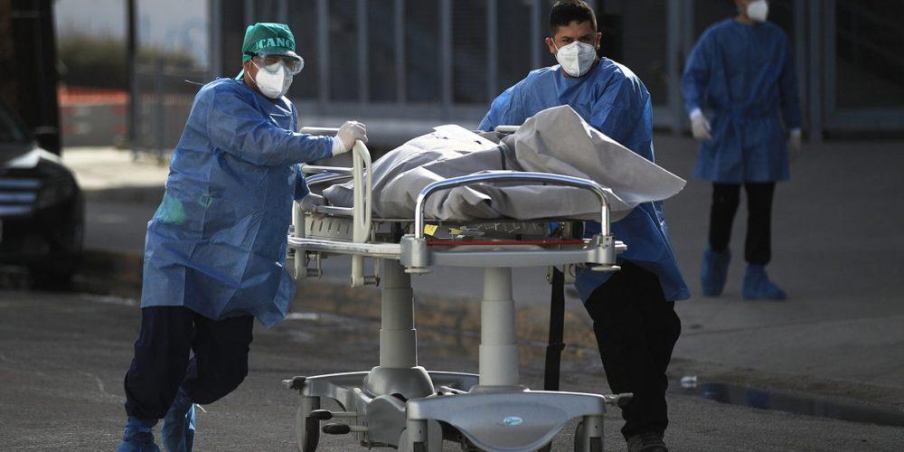 La pandemia sigue imparable: 1,584  muertes en 24 horas