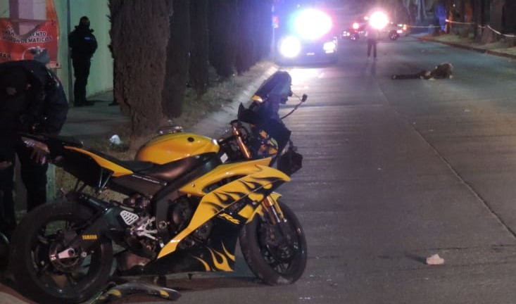 Se mata motociclista en Jardines del Lago