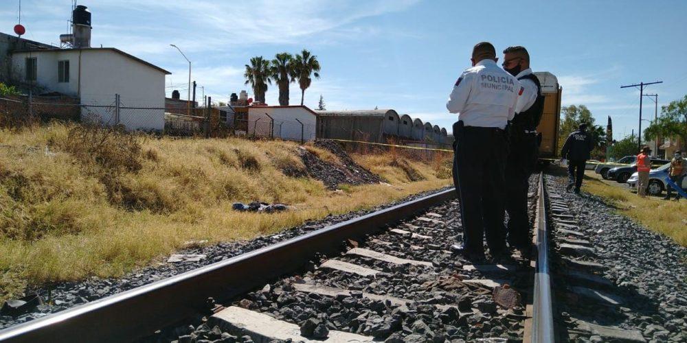 Muere un hombre al ser atropellado por el tren en el IV Centenario