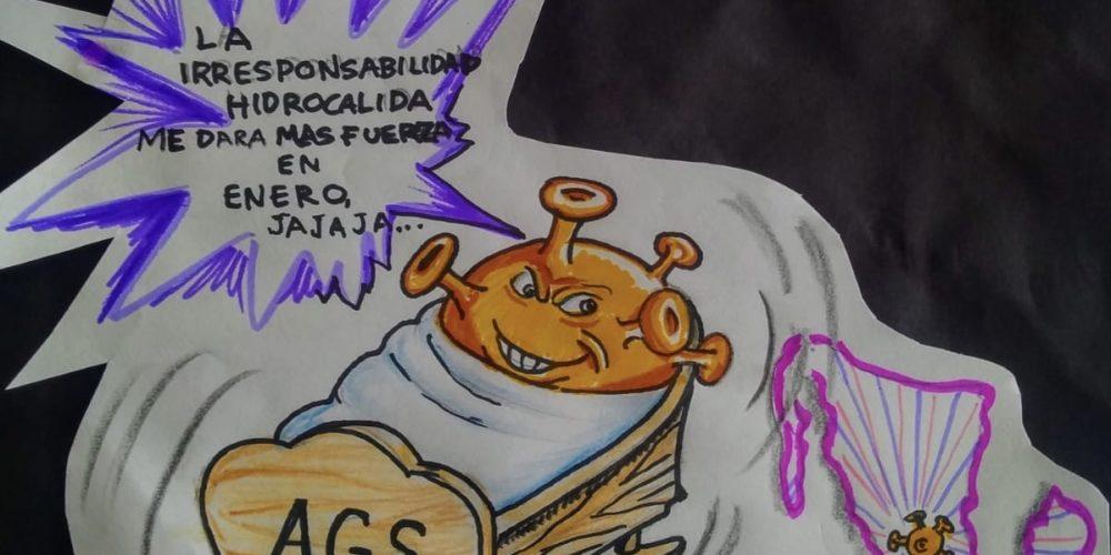 Mientras tanto el Covid en Aguascalientes …