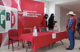 Publica PRI su lista de candidatos a diputados en Aguascalientes