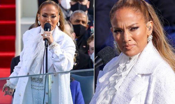 (VIDEO) Jennifer Lopez se presentó en la toma de posesión de Joe Biden