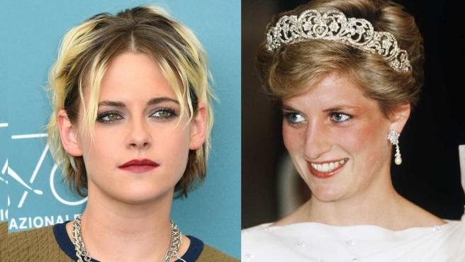 """Revelan fotografía de Kristen Stewart como Lady Di en la película """"Spencer"""""""