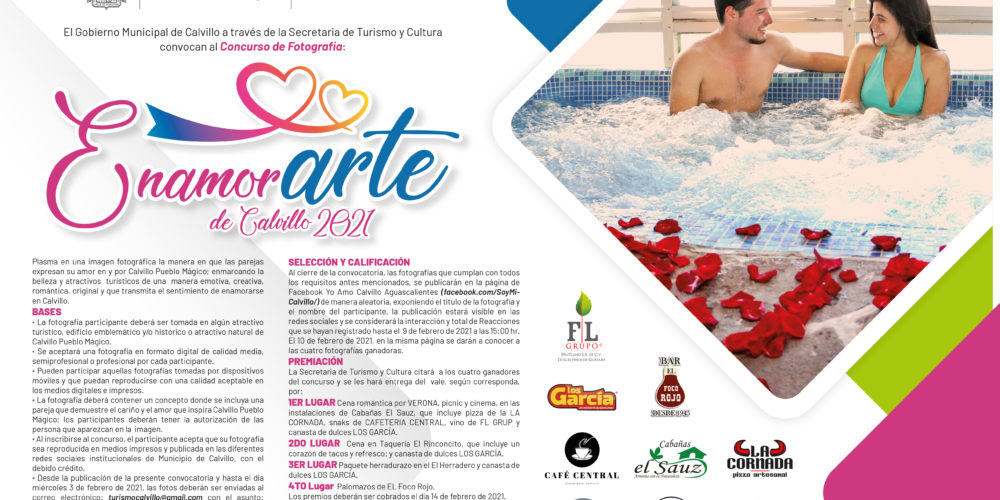 Convoca Calvillo a participar en concurso de fotografía EnamorArte