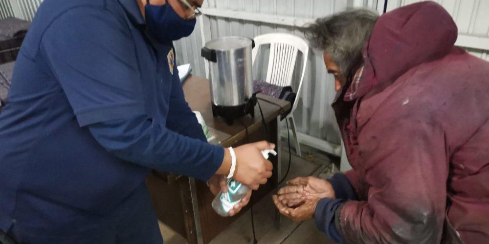 Reciben a primer persona en el albergue municipal de Aguascalientes
