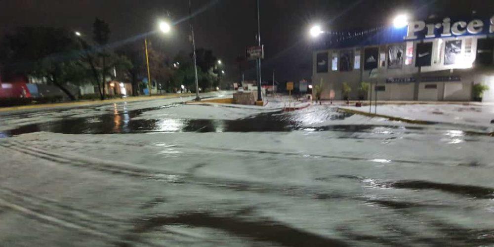Granizada en Las Américas en Aguascalientes (Fotogalería)