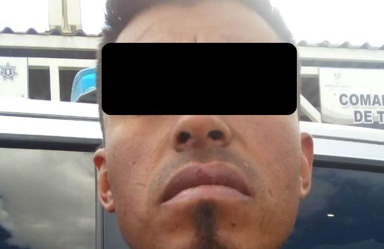 Detienen a sujeto por amenazas y atentados al pudor en Pabellón de Arteaga